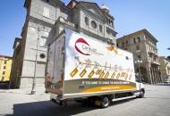 Il caravan in Piazza Brin